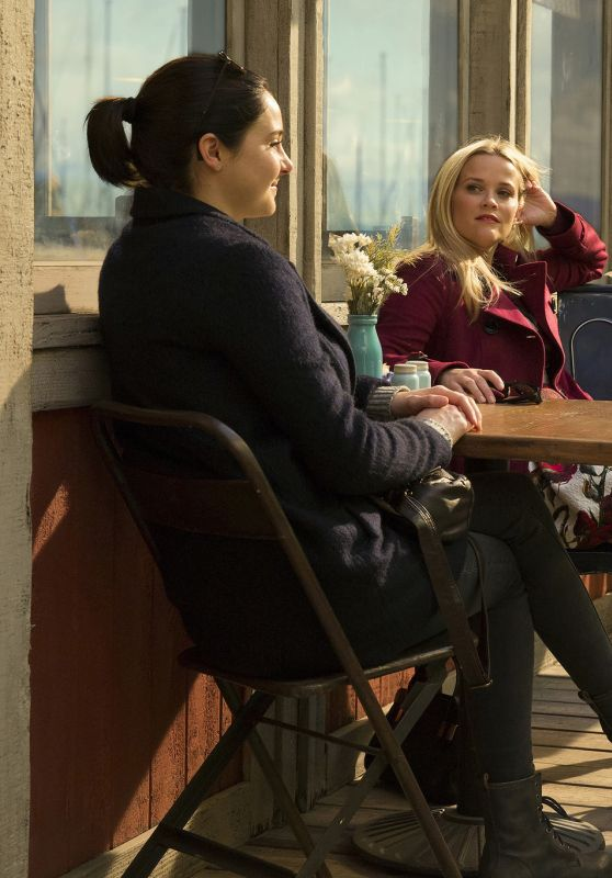 Shailene Woodley, Reese Witherspoon, Nicole Kidman - Big Little Lies (2017) Poster and Stills