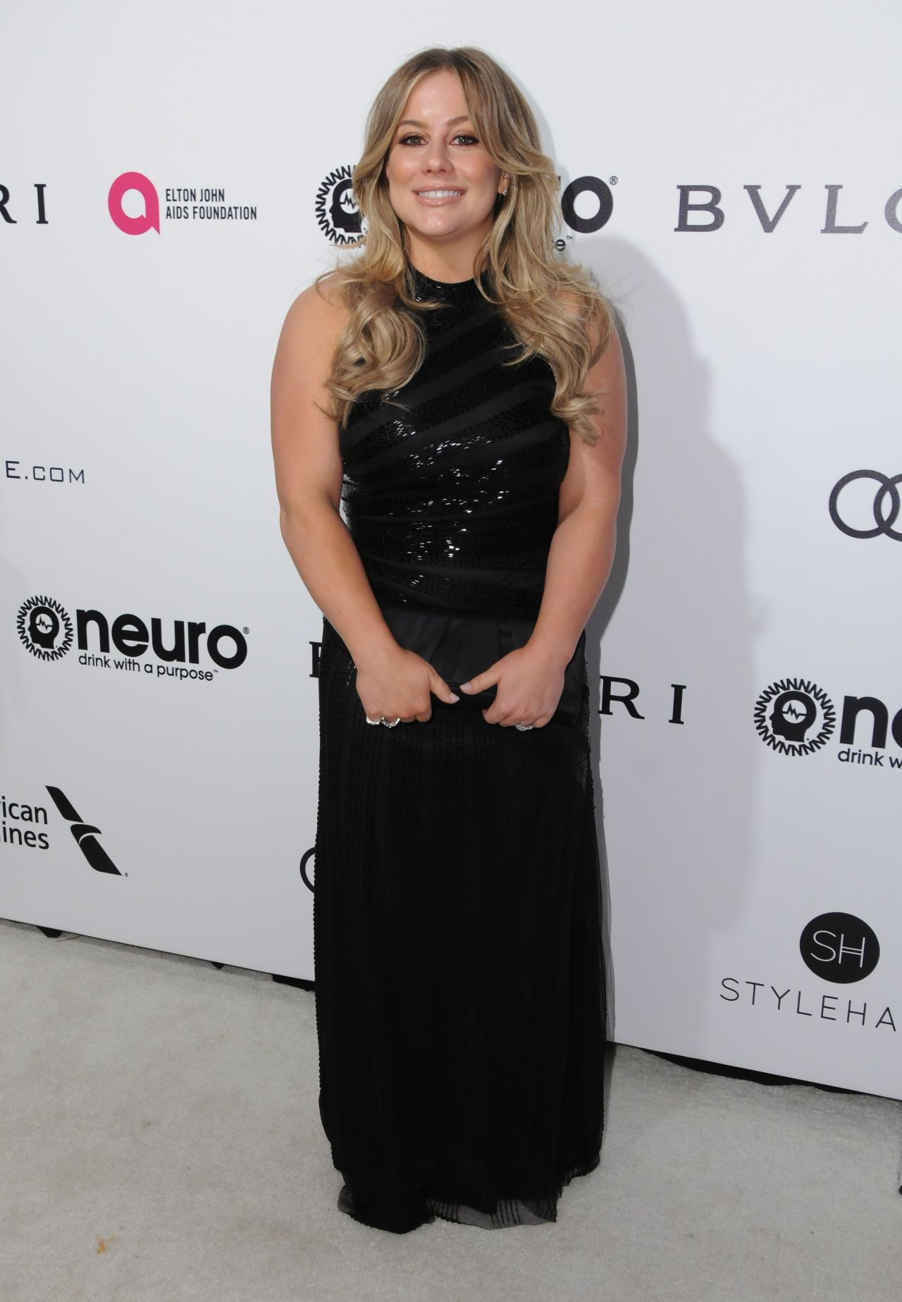 Kia South Miami >> Shawn Johnson at Elton John AIDS Foundation Academy Awards 2017 Viewing Party in LA