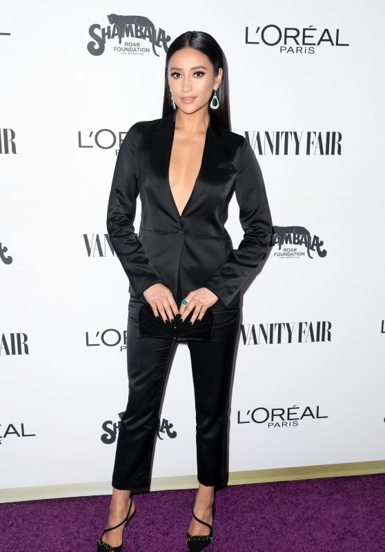 Shay Mitchell – Vanity Fair and L'Oreal Paris Toast to Young Hollywood in West Hollywood 2/21/ 2017