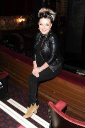 Sheridan Smith at Palace Theatre, Manchester 2/17/ 2017