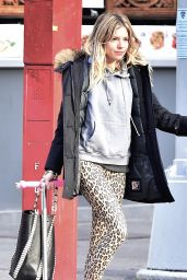 Sienna Miller Street Style - Out in New York City 02/21/ 2017