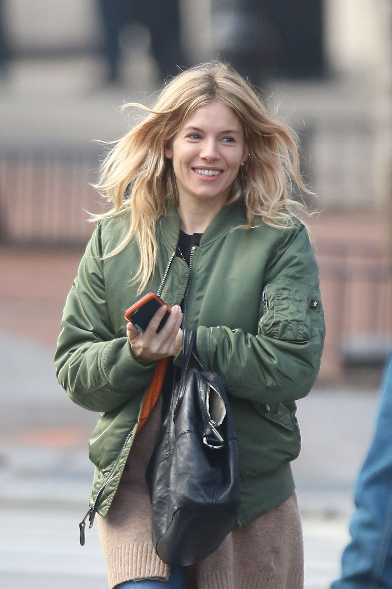 Sienna Miller Street Style Steps Out In The East Village