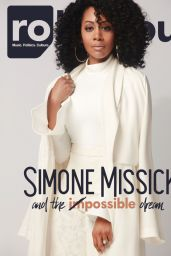 Simone Missick- Rolling Out Magazine February 2017 Photos