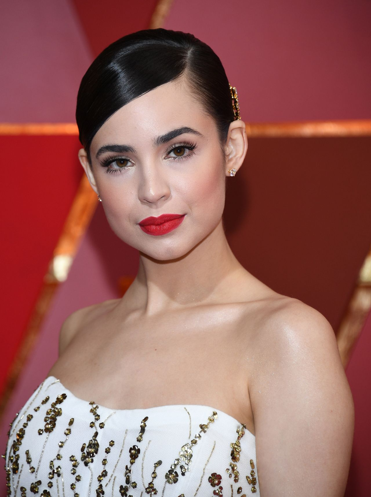 Sofia Carson Oscars Red Carpet In Hollywood 2 26 2017