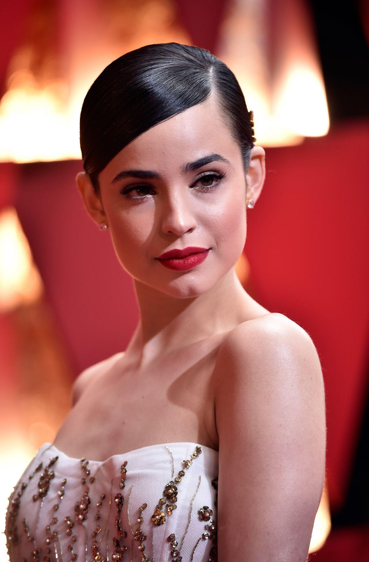 Sofia Carson Oscars Red Carpet In Hollywood 2 26 2017