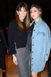 Sophia Stallone – Topshop Unique Show at London Fashion Week 02/19/ 2017