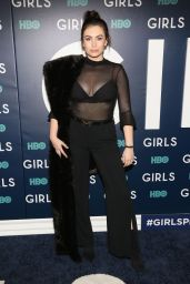 Sophie Simmons - Girls Sixth Season Premiere in NY 2/2/ 2017