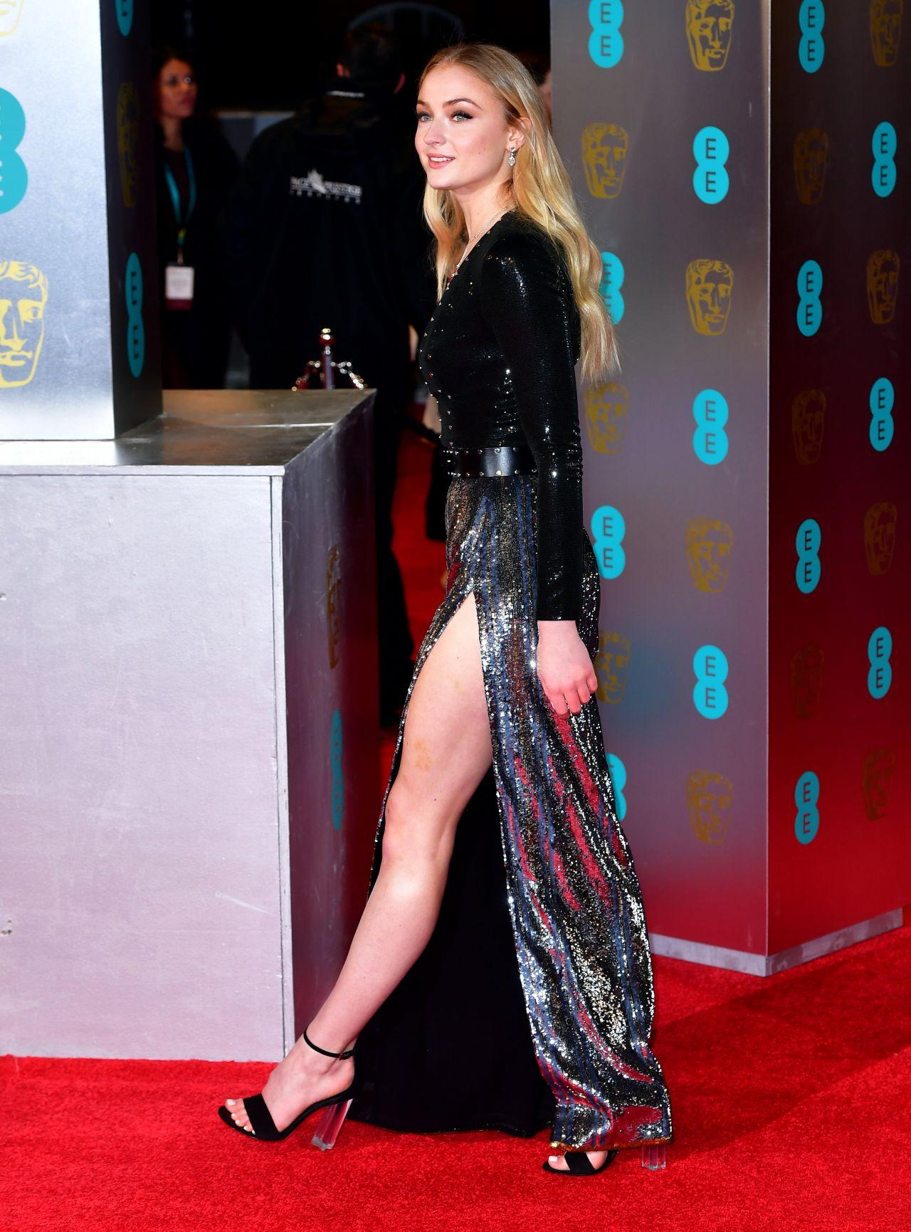 sophie turner british academy film awards bafta in