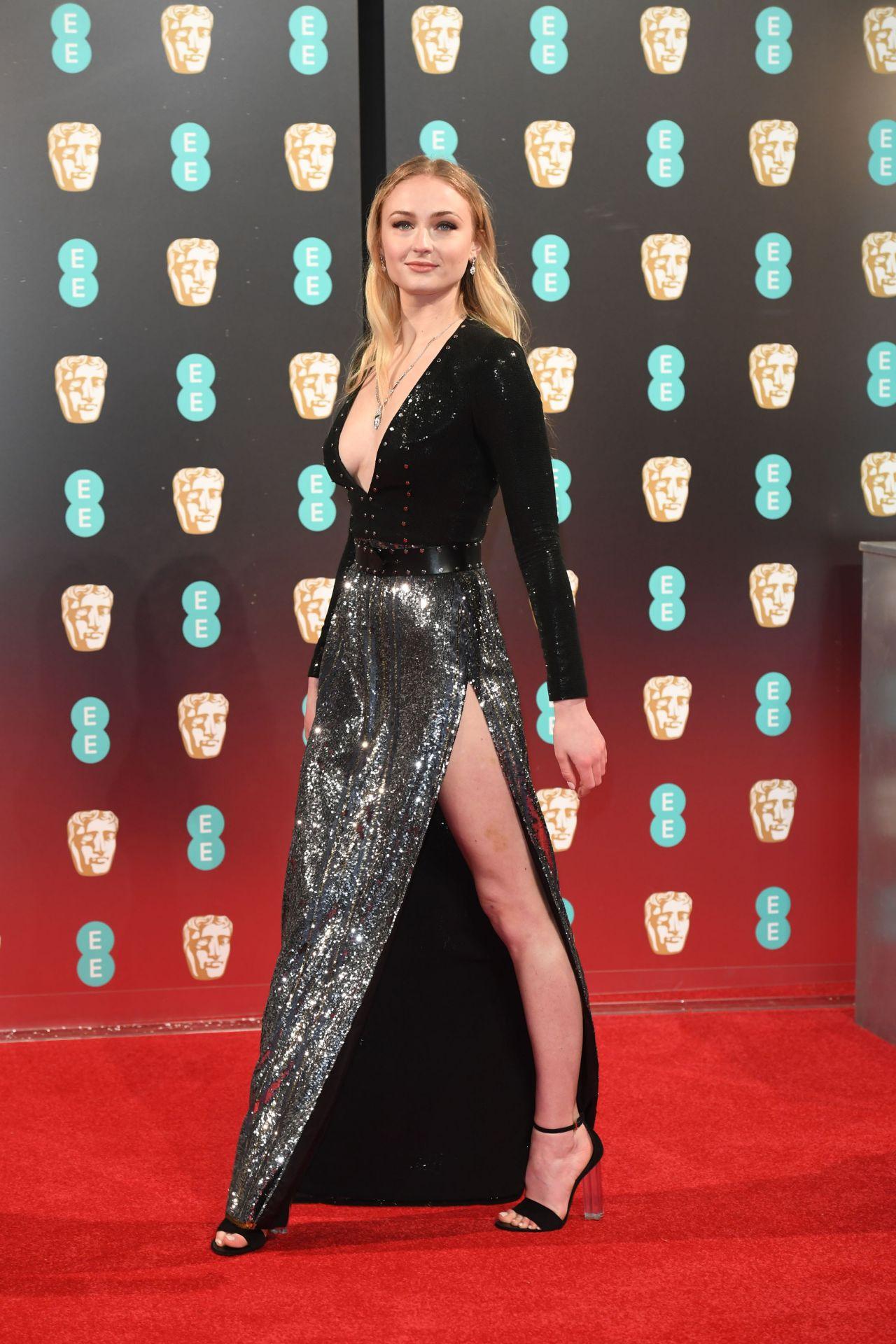 Sophie Turner - British Academy Film Awards Bafta In -8032
