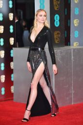 Sophie Turner - British Academy Film Awards (BAFTA) in London 2/12/ 2017