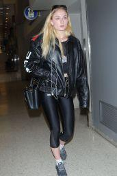 Sophie Turner - LAX Airport in Los Angeles 2/8/ 2017
