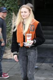 Sophie Turner - Stops by Alfred