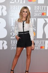 Stacey Solomon – The Brit Awards at O2 Arena in London 2/22/ 2017
