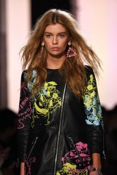 Stella Maxwell Catwalk - Jeremy Scott Fashion Show in NYC 2/10/ 2017