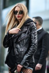 Stella Maxwell Style - Out in London 2/19/ 2017