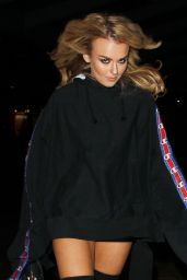 Tallia Storm Style - Arriving at the Drake Concert at the London O2 2/5/ 2017