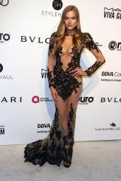 Tanya Mityushina at Elton John AIDS Foundation Academy Awards 2017 Viewing Party in LA
