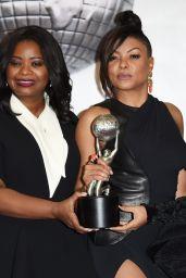 Taraji P. Henson at 48th NAACP Image Awards in Los Angeles 2/11/ 2017