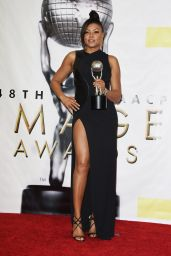 Taraji P. Henson at 48th NAACP Image Awards in Los Angeles 2/11/ 2017