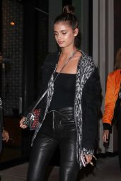 Taylor Hill - Arrive to Catch LA For a Dinner - West Hollywood 2/4/ 2017
