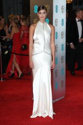 Taylor Hill on Red Carpet at BAFTA Awards in London, UK 2/12/ 2017