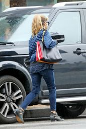 Teresa Palmer - Braves The Rain For a Day of Running Errands, Hollywood, CA 2/6/ 2017