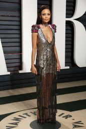 Thandie Newton at Vanity Fair Oscar 2017 Party in Los Angeles