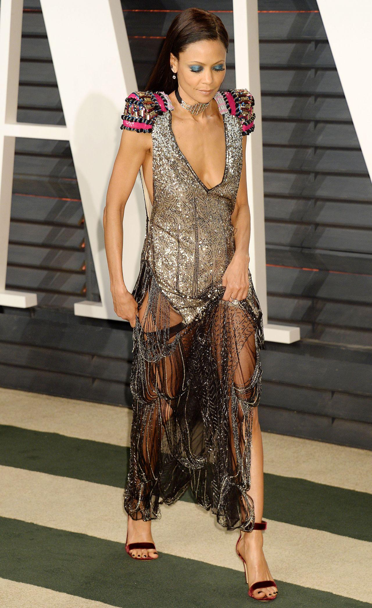 Thandie Newton At Vanity Fair Oscar 2017 Party In Los Angeles