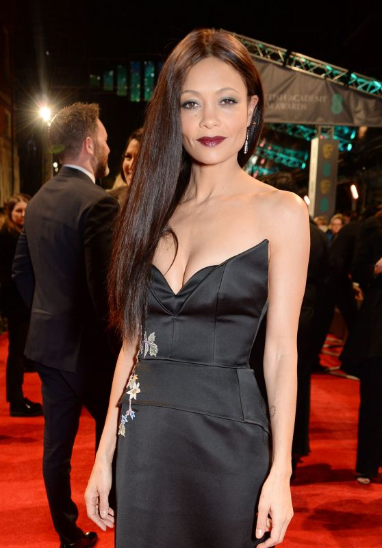 Thandie Newton on Red Carpet at BAFTA Awards in London, UK 2/12/ 2017