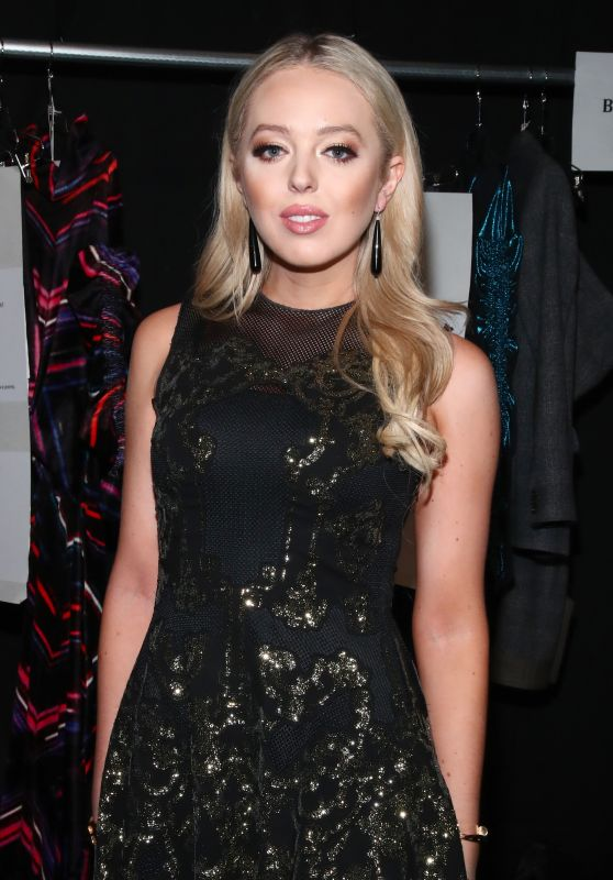 Tiffany Trump at Vivienne Tam FW2017 Runway Show in New York City 2/15/ 2017