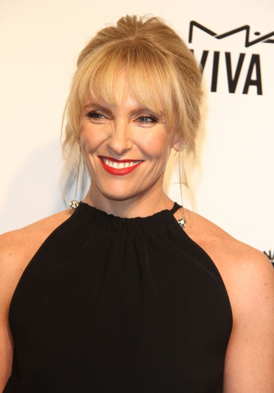 Toni Collette at Elton John AIDS Foundation Academy Awards 2017 Viewing Party in LA