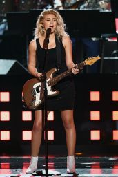Tori Kelly Performs at GRAMMY Awards in Los Angeles 2/12/ 2017