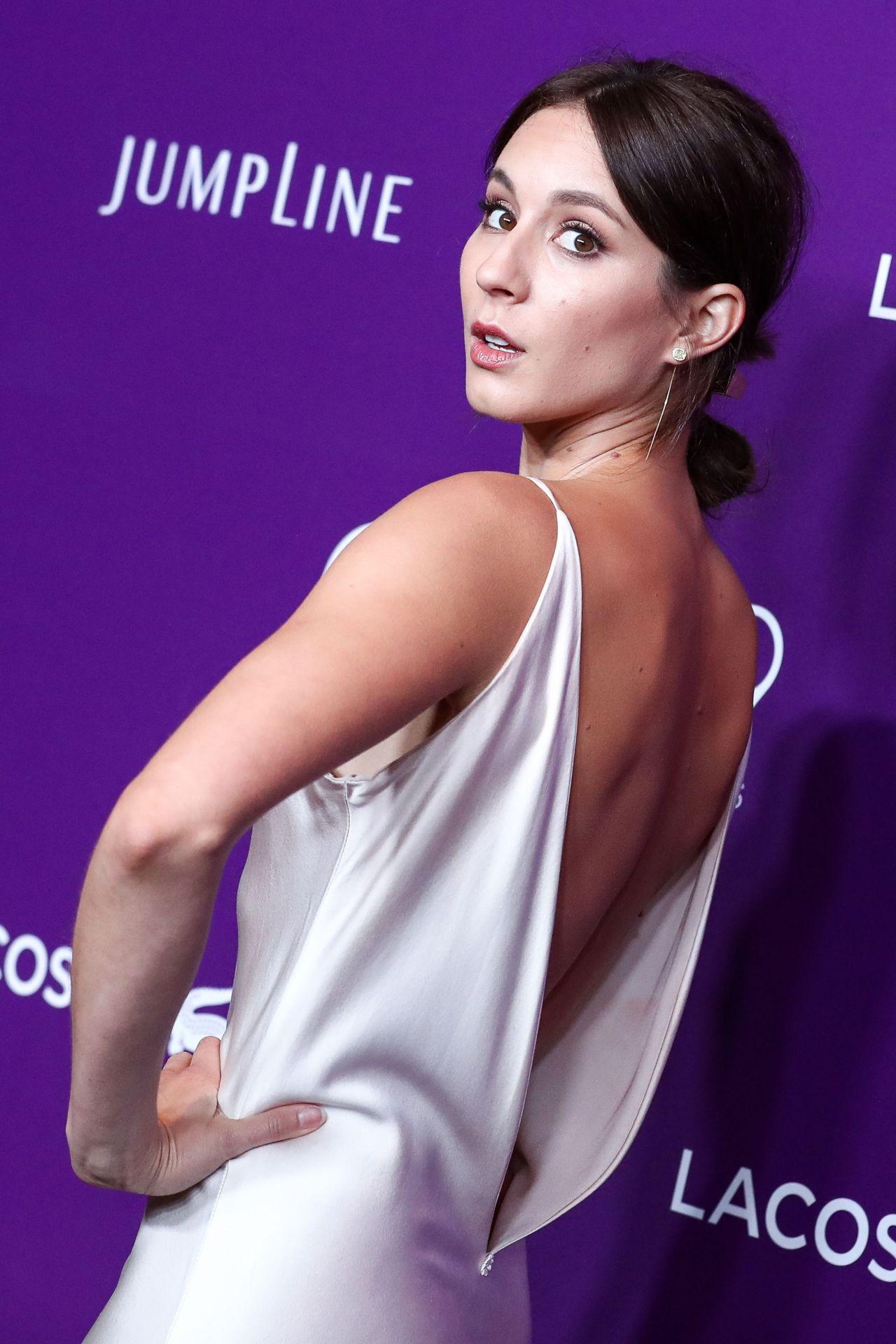 Troian Bellisario Costume Designers Guild Awards In Beverly Hills 02 21 2017