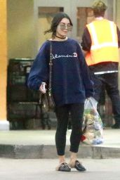 Vanessa Hudgens - Doing Some Grocery Shopping at Ralph
