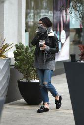Vanessa Hudgens - Shopping Trip to Sephora, Los Angeles 2/5/ 2017