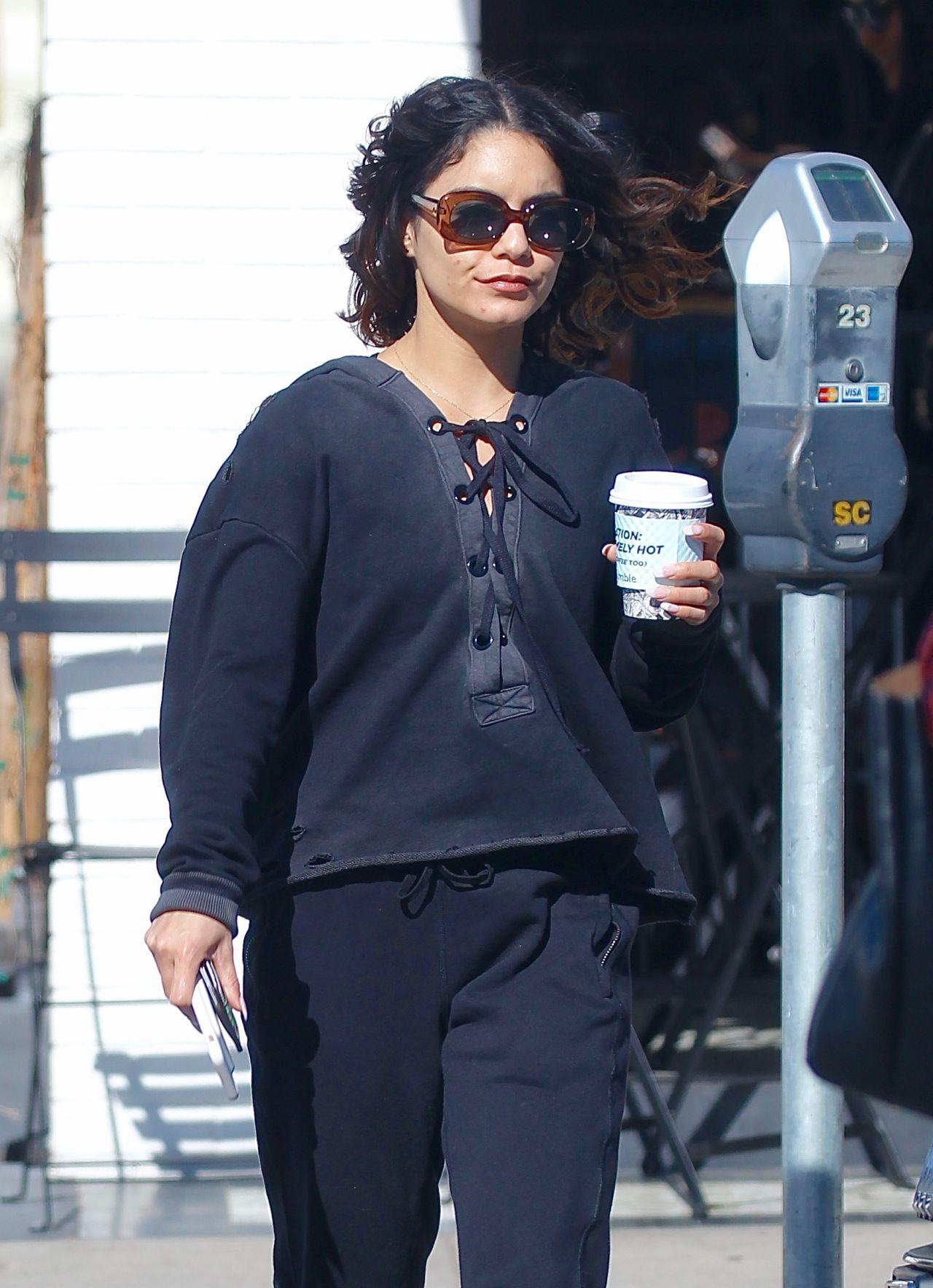 Vanessa Hudgens Street Style - Los Angeles 2/23/ 2017