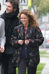 Vanessa Paradis - Having Lunch With Few Friends at Ed