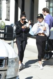 Vanessa & Stella Hudgens - Out for Coffee in Los Angeles 2/12/ 2017