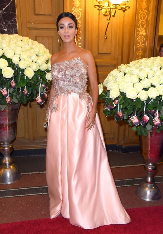 Verona pooth semperopernball in dresden 2 3 2017