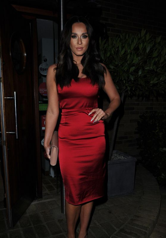 Vicky Pattison at Smiths Restaurant in Essex, UK 2/25/ 2017