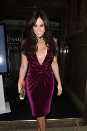 Vicky Pattison - Rosso Restaurant in Manchester 2/5/ 2017
