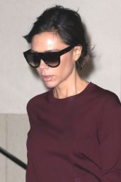 Victoria Beckham - Leaving Her Home in New York 2/7/ 2017