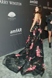 Victoria Justice at amfAR New York Gala Red Carpet, 2/8/ 2017