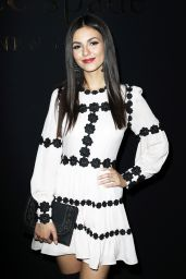 Victoria Justice - Kate Spade Presentation at NYFW in New York 2/10/ 2017