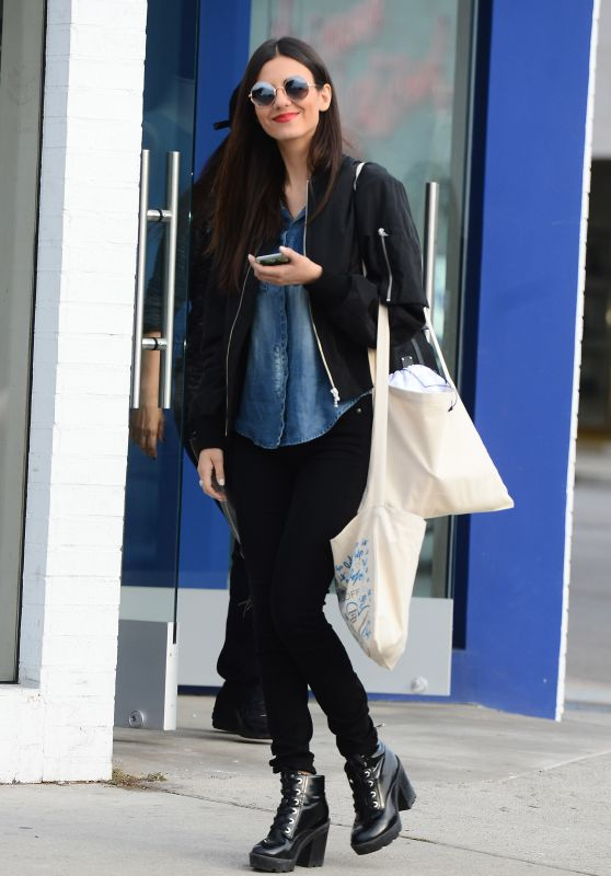 Victoria Justice - Photoshoot at Rebecca Minkoff Store on Melrose in Los Angeles 2/2/ 2017