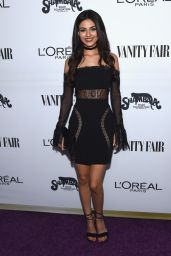 Victoria Justice – Vanity Fair and L'Oreal Paris Toast to Young Hollywood in West Hollywood 2/21/ 2017