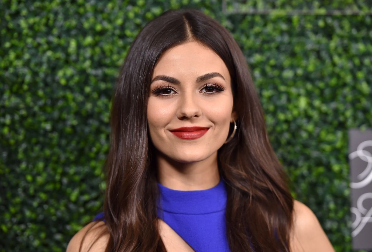 Victoria Justice  Womens Cancer Research Fund Hosts An -3544