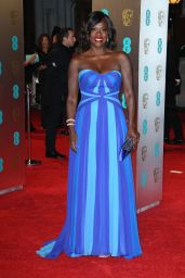 Viola Davis at BAFTA Awards in London, UK 2/12/ 2017