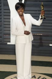 Viola Davis at Vanity Fair Oscar 2017 Party in Los Angeles