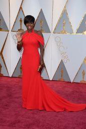 Viola Davis – Oscars 2017 Red Carpet in Hollywood